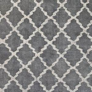 Tapis En Coton : tell me more tapis scandinave en coton lav gris ~ Nature-et-papiers.com Idées de Décoration