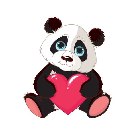 ikea stickers chambre power stickers stickers mural le panda coeur