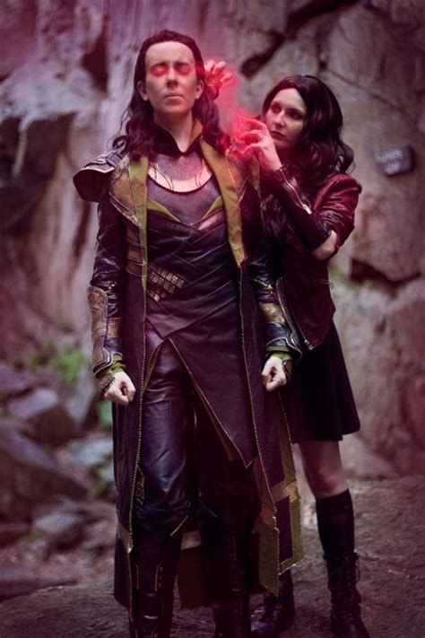 Loki And Scarlet Witch Cosplay Article