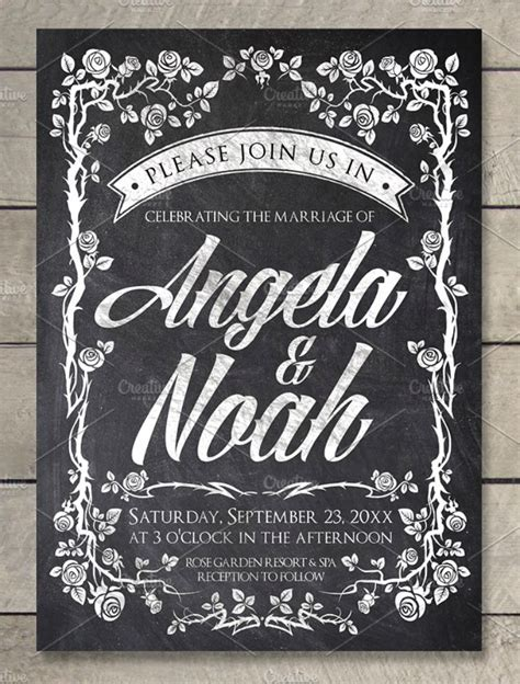 29+ Vintage Wedding Templates Editable PSD AI Format