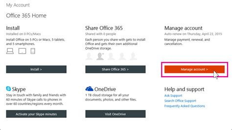Office 365 Renewal by Renew Office 365 For Home Office Support