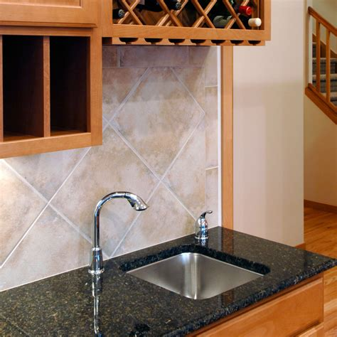 Bar Sink And Cabinets by Cozy Homes