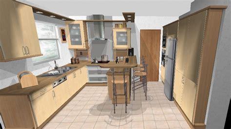 cuisine en 3d facile plan de masse maison gratuit