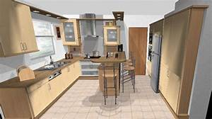 Plan De Cuisine 3d : logiciel de plan de cuisine gratuit ~ Nature-et-papiers.com Idées de Décoration