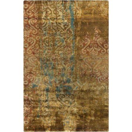 Teal And Brown Area Rugs by 2 X 3 Rustic Style Brown And Teal Wool Area Rugs