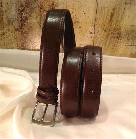 Italian Cowhide Leather by Italian Cowhide Leather S Belt Brown