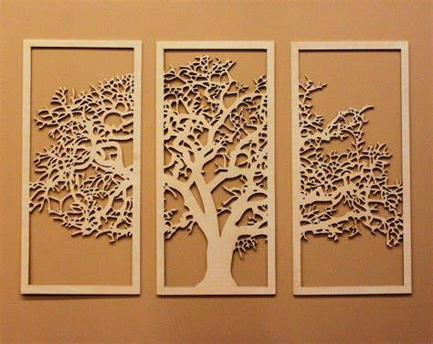 Carved Tree Wall Art - Elitflat