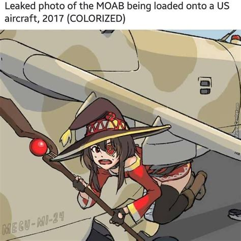 Megumin Memes - at least wwiii would make megumin happy by alex harper 900 meme center
