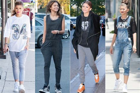 Zendaya, White, Mom Jeans, Blue Jeans, Jeans, Pants