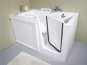 baignoire avec porte modeles terra luna topol ag With baignoire sabot avec porte
