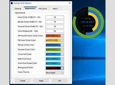 5 Free Desktop Clock Widget Software For Windows 10