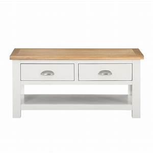 willow wood coffee table with storage in cream and light With cream and wood coffee table
