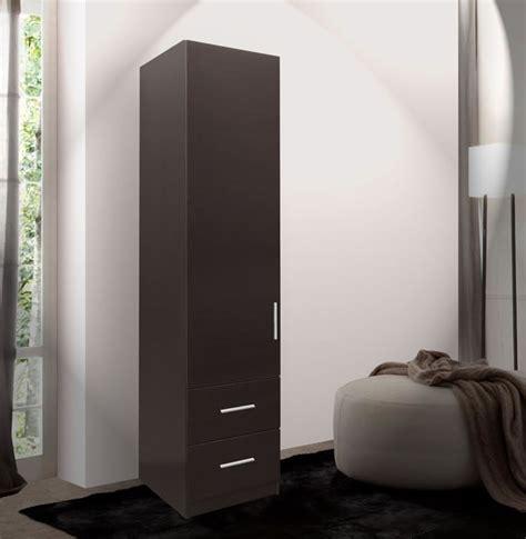 alta narrow storage closet left door 2 exterior drawers