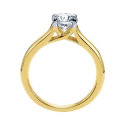 14k yellow gold engagement rings engagement ring 14k yellow gold solitaire