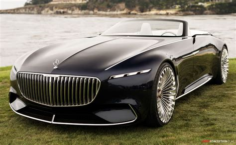 Vision Mercedes-maybach 6 Cabriolet Revealed At Pebble