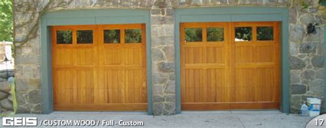 Fullcustom  Custom Wood  Geis Garage Doors Milwaukee