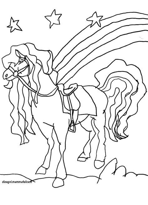immagini da stare disegno da colorare il cavallo disegni mammafelice
