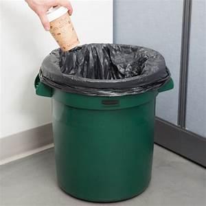 Rubbermaid, Green, 10, Gallon, Trash, Can