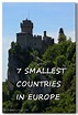 The 7 Smallest Countries in Europe | Ali's Adventures