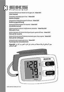 Eks Vision 0301 Blood Pressure Monitor Download Manual For