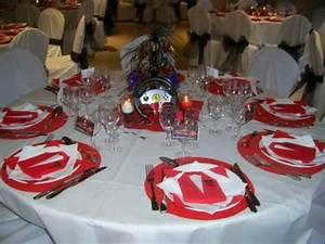 Deco Table Anniversaire Femme : decoration de salle anniversaire theme ferrari youtube ~ Melissatoandfro.com Idées de Décoration