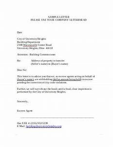 Online Cover Letter Template 11 Escrow Letter Templates In Pdf Ms Word Free