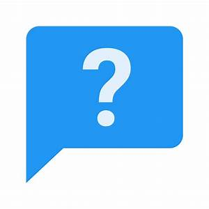 Ask Question Icon - Free PNG and SVG Download