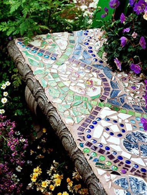 beautiful designs   mosaic   garden