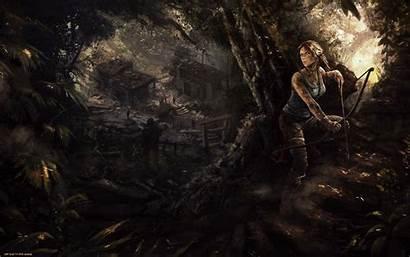 Fan Lara Croft Raider Tomb Games Artwork