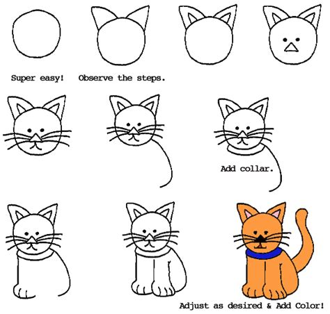 draw  cat drawing  kids pinterest cat