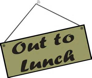 Out to Lunch Clip Art Free