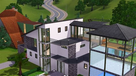 maisons sur sims 3 studio design gallery best design
