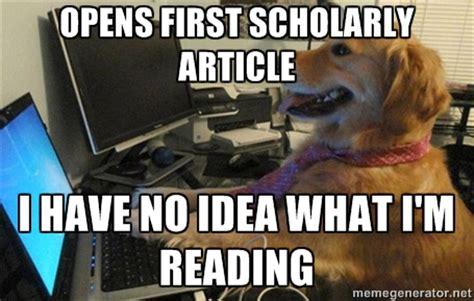 Journal Meme - scholarly memes image memes at relatably com