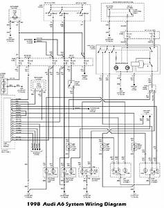 1998 Audi A6 System Electrical Wiring Diagram Free