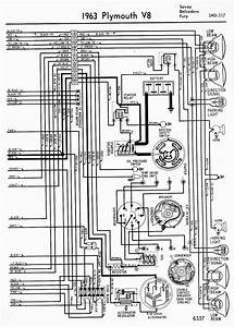 Wiring Diagrams Of 1963 Plymouth V8 Savoy  Belvedere  And