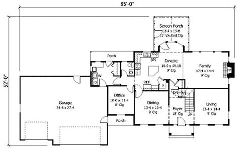 contemporary colonial house plans thoroughly modern colonial 14364rk architectural