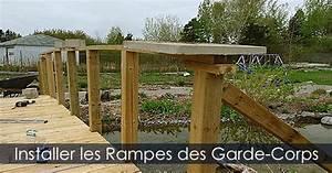 Pont En Bois Pour Jardin : pont arqu en bois avec garde corps construire un pont de jardin ~ Nature-et-papiers.com Idées de Décoration