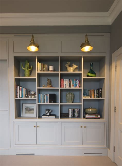 enigma design bespoke built  bookcase