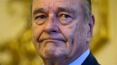 Jacques Chirac Aurait Frôlé La Mort Dimanche Dernier Selon