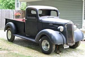 1937 Chevrolet Pickup Truck Hot Rod Project For Sale