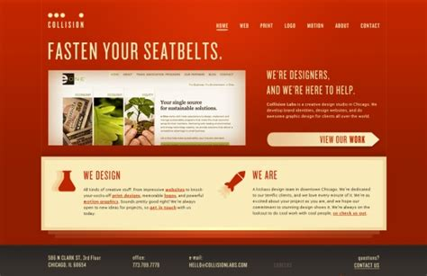 Home Design Website Free : 35 Creative Home Page Designs