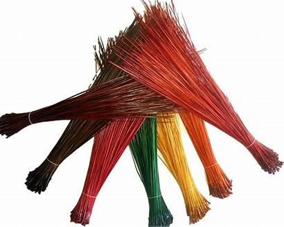 Pine Needles Crafting Longleaf Basket Making Dyed