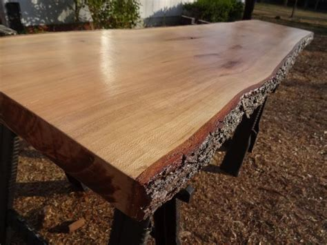 edge cherry solid hardwood wood slab natural table top
