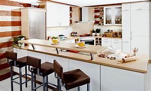 Küchen L Form Mit Theke : moderne k che mit theke ~ Bigdaddyawards.com Haus und Dekorationen