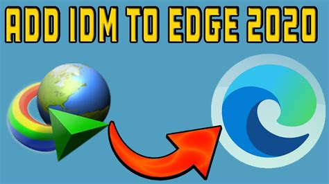 See download youtube video in microsoft edge to learn more. How to Add IDM extension to Microsoft Edge (NEW version) 2020 - YouTube