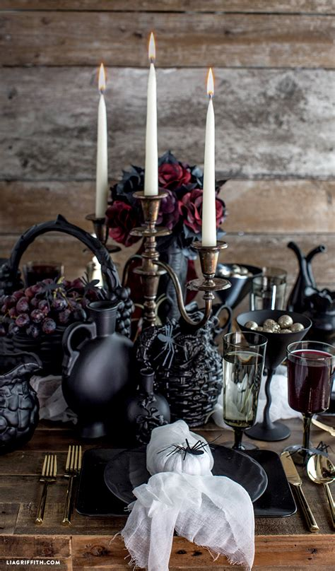 gothic halloween decorating ideas  inspire  feed
