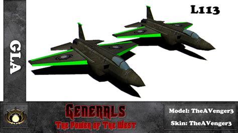 l113 gla west power mod generals zero hour rss