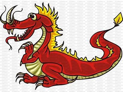 Dragon Cartoon Clip Builders Eps