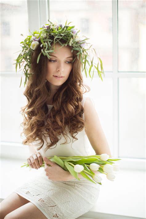 top   wedding hairstyles  long hair deer pearl