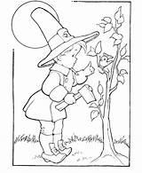Coloring Thanksgiving Fall Boy Pilgrim Printable Sheets Holiday Activity Popular Adult Tree Raisingourkids Enregistree Depuis sketch template